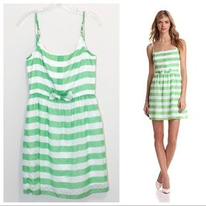 Lilly Pulitzer Antonia Green Sleeveless Mini Dress